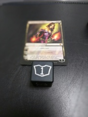 Metal Planeswalker Loyalty Dice Black (1-6) Magic the Gathering