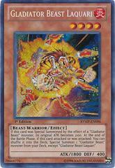 Gladiator Beast Laquari - RYMP-EN096 - Secret Rare - 1st Edition
