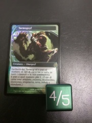 Metal Tarmogoyf Dice Green Magic the Gathering