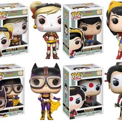 DC Bombshells Common Set of 4