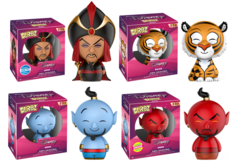 Dorbz Disney Aladdin: Set of 4 including Chase Red Genie!