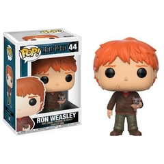 Funko Pop - Harry Potter - #44 - Ron Weasley (with Scabbers)