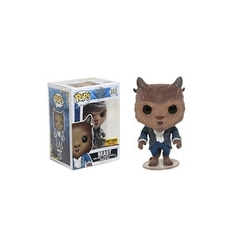 Funko Pop - Beauty and the Beast (2017) - #243 - Beast (Flocked/Hot Topic Exclusive)