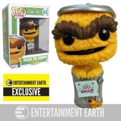 Funko Pop - Sesame Street - #03 - Oscar the Grouch (Entertainment Earth Exclusive)