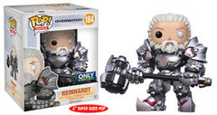 Funko Pop - Overwatch - #184 - Reinhardt (No Helmet)