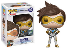 Funko Pop - Overwatch - #92 - Tracer (Posh/ThinkGeek Exclusive)