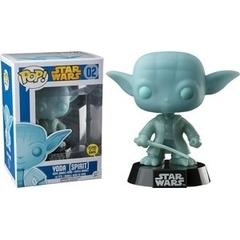 Funko Pop - Star Wars - #02 - Yoda Spirit (GITD; Walgreens Excl.)