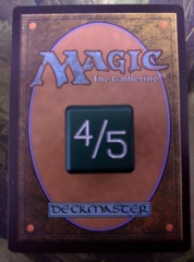 Metal Tarmogoyf Dice Green Small Magic the Gathering