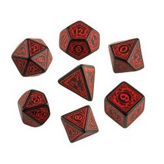 Wrath of the Righteous Pathfinder 7 Dice Set