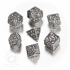 Forest Dice Set - White/Black