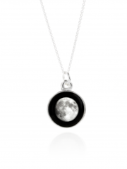 Moonglow Necklace Silver