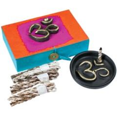 Yoga Om Rope Incense Box