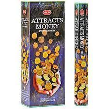 Attracts Money Hexa Incense