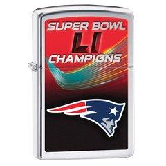 Patriots Super Bowl LI Champs Zippo