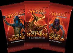 Hour of Devastation Booster Pack - English