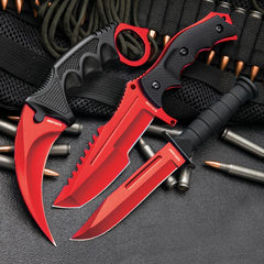 Small Red Boot Knife