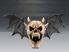 Hanging Skull Bat