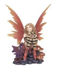 Sitting Peach Fairy