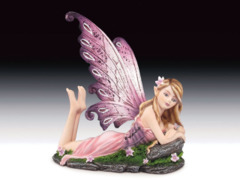 Laying Down Purple Fairy