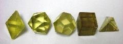 Geometric Green Gold Lemon Quartz