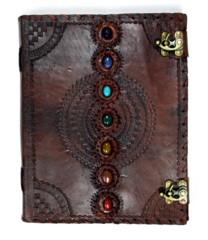 Large Chakra Leather Journal