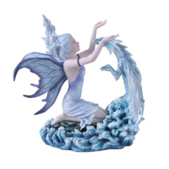 Large Water Fairy with Dragon