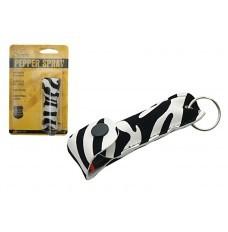 1/2 OZ Zebra Print Pepper Spray