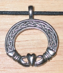 Celtic Visions Claddagh Pendant