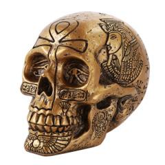 Gold Egyptian Skull