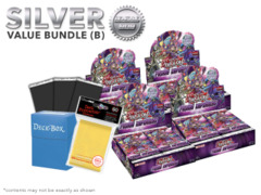 Yugioh Fusion Enforcers Bundle (B) Silver - Get x4 Booster Boxes + Bonus Items (See Description)