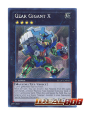 Gear Gigant X - REDU-EN046 - Secret Rare - Unlimited Edition