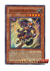Gladiator Beast Darius - Common - PTDN-EN031 (Unlimited) on Ideal808