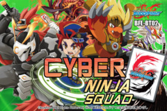 BFE-BT02 Cyber Ninja Squad (English) Future Card Buddyfight Booster Box on Ideal808