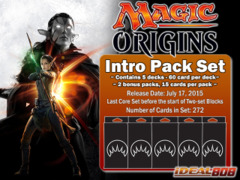 Magic Origins (ORI) Intro Pack Set [All 5 Decks]