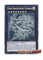 Divine Dragon Knight Felgrand - SHSP-EN056 - Ghost Rare - 1st Edition
