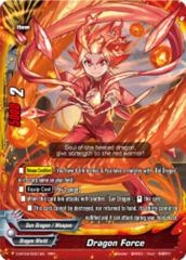 Dragon Force (Red/Dragon World) [D-BT03/0001EN RRR (FOIL)] English