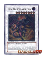 Red Dragon Archfiend - Ultimate - TDGS-EN041 (1st Edition) on Ideal808