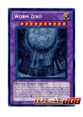 Worm Zero - HA03-EN056 - Secret Rare - 1st Edition