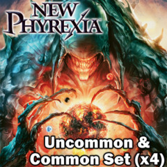 New Phyrexia (NPH) Complete Set of Commons/Uncommons x4