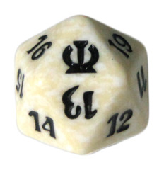 MTG Spindown 20 Life Counter - Theros (White)