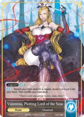 Valentina, Plotting Lord of the Seas // Overlord of the Seven Lands, Valentina [TTW-045 R (Full Art Ruler)] English