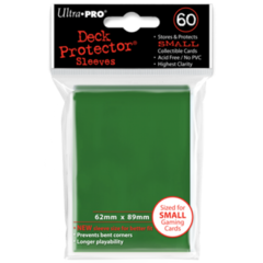 Ultra Pro Small Sleeves 60ct. - Green