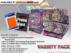 FC-Buddyfight X-BT02A X-TD01 X-TD02 Varity Pack - Get x1 Evolution & Mutation Booster Box; x1 of each X-TD Decks * Ships Aug.25