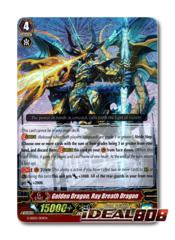 Golden Dragon, Ray Breath Dragon - G-SD02/001EN - RRR (Foil ver.)
