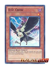 D.D. Crow - LCGX-EN234 - Super Rare - 1st Edition