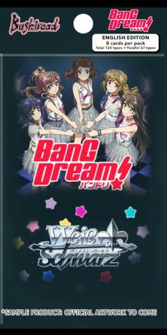 BanG Dream! (English) Weiss Schwarz Booster Pack