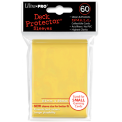 Ultra Pro Small Sleeves 60ct. - Yellow