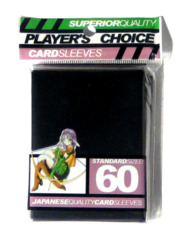 Player's Choice Standard Card Sleeves - Black