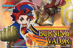 BFE-CP01 Burning Valor (English) Future Card Buddyfight Character Pack Booster Box on Ideal808