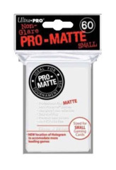 Ultra Pro Non-Glare Small Sleeves 60ct - White on Ideal808